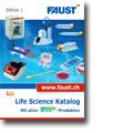 Cover des Life Science Katalogs
