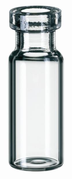 LLG-Rollrandflaschen ND11, enge Öffnung und weite Öffnung (flacher Boden)