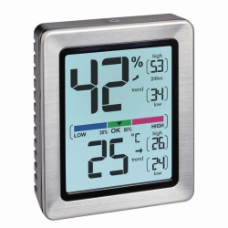 Digitales Thermo-Hygrometer EXACTO