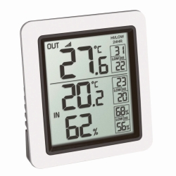 Digitales Funk-Thermo-/Hygrometer INFO