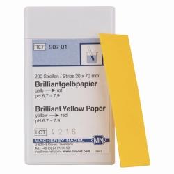 Indikatorpapiere ohne Farbskala
