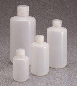 Enghalsflaschen mit geringer Partikelzahl Typ 382099, PassPort IP2, HDPE, mit Schraubverschluss, PP