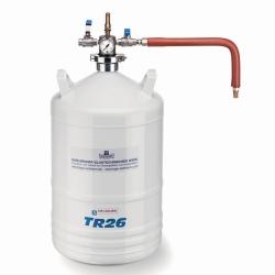 Flüssigstickstoff-Behälter, Aluminium