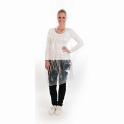Poncho, transparent, PE Faust Laborbedarf AG Onlineshop