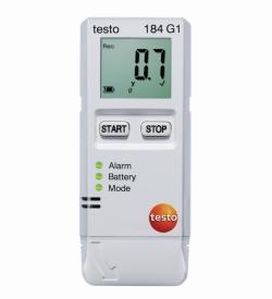 Temperatur-, Feuchte- und Erschütterungslogger testo 184 G1