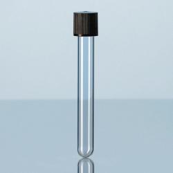 Einweg-Kulturröhrchen, Kalk-Soda-Glas, mit Schraubverschluss