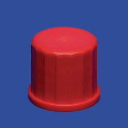 Schraubverschlusskappen für Gewinderohre, PBT