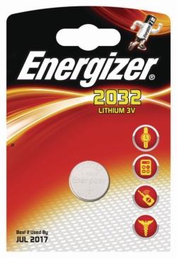 Batterien, Lithium Knopfzellen Energizer