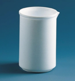 Becher, niedere Form, PTFE Faust Laborbedarf AG Onlineshop
