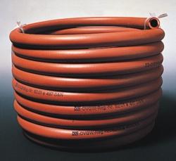 Gas-Sicherheitsschlauch, Gummi, ohne Armierung