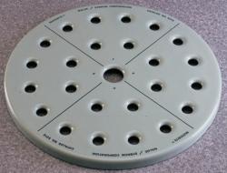 Exsikkatorenplatten Nalgene™, Typ 5312, Emaille