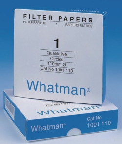 Filtrierpapiere Typ 1, qualitativ, Rundfilter und Bogen