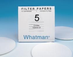 Filtrierpapiere Typ 5, qualitativ, Rundfilter