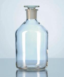 Steilbrust-Enghalsstandflaschen, Kalk-Soda-Glas