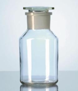 Steilbrust-Weithalsstandflaschen, Kalk-Soda-Glas