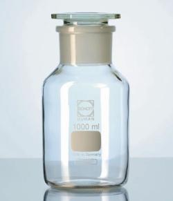 Steilbrust-Weithalsstandflaschen, DURAN®, mit NS-Schliff Faust Laborbedarf AG Onlineshop