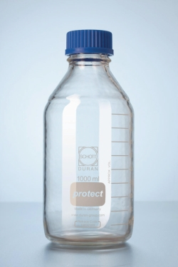 Laborflaschen Protect DURAN<SUP>&reg;</SUP>, mit retrace code