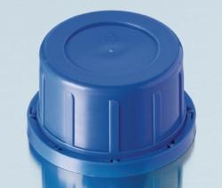 Originalitätsverschlüsse für Kalk-Soda Vierkant-Schraubflaschen, PP