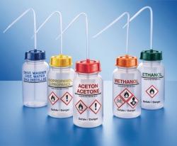 Sicherheits-Spritzflasche, Weithals, Serie 303, PE-LD