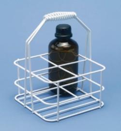 Flaschenträger, Draht/Kunststoff Faust Laborbedarf AG Onlineshop
