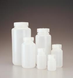 Weithalsflaschen, HDPE mit Schraubverschluss, PP