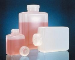 Vierkantflaschen Nalgene™ Typ 2007, HDPE, mit Schraubverschluss, PP