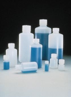 Enghalsflaschen Typ 2002, PE-HD, mit Schraubverschluss, PP Faust Laborbedarf AG Onlineshop