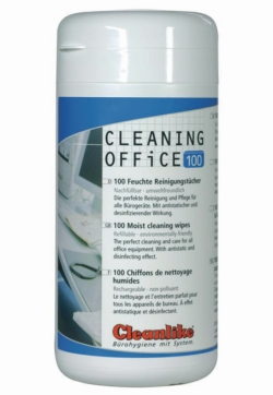 Oberflächenreinigungstücher mit Alkohol CLEANING OFFICE