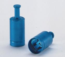 LABOCAP-Kappen mit Griff, Aluminium