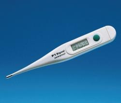 Fieberthermometer, digital/glas