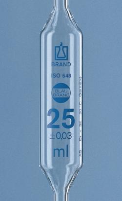 Vollpipetten, AR-Glas<SUP>®</SUP>, Klasse AS, 1 Marke, blau graduiert