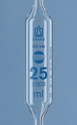 Vollpipetten, AR-glas<SUP>&reg;</SUP>, Klasse AS, 2 Marken, blau graduiert