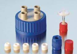 Anschluss-System für Weithalslaborflaschen GLS 80<SUP>®</SUP>