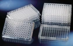 96 Well Immuno Platten, PS, flacher Boden