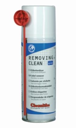 REMOVING CLEAN SPRAY, Etikettenlöser-Spray