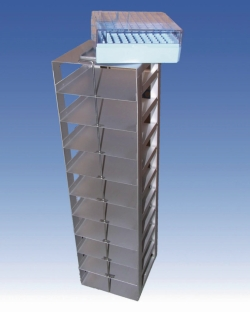 Lagersystem, viereckig für Flüssigstickstoffvorratsbehälter