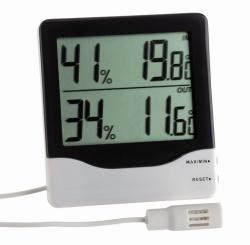 Digitales Thermo-Hygrometer für Raum- und Aussenmessung