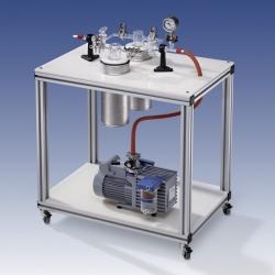 Chemiepumpstand CP1 - CP2, fahrbar