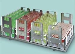 Tablar mit Testglaseinsätzen Faust Laborbedarf AG Onlineshop