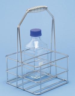 Flaschenträger für DURAN-Vierkantflaschen