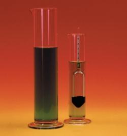 Aräometer-Standzylinder für Aräometer, Glas