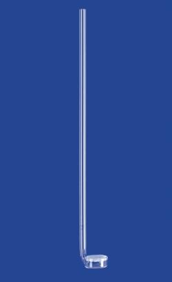 Gasverteilungsrohre, seitlich oder mittig angeschmolzen, Borosilikatglas 3.3