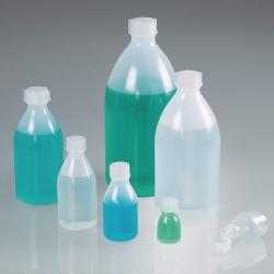 Enghalsflaschen Bio, mit Schraubverschluss, Green LDPE