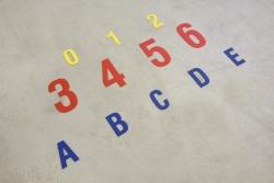 Bodenmarkierungen DuraStripe<SUP>®</SUP> Supreme V, Zahlen