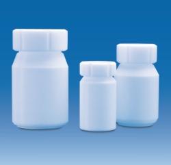 Weithalsflaschen mit Schraubverschluss, PTFE