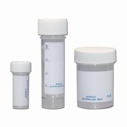 LLG-Probenbehälter, PS, mit Schraubverschluss, steril
