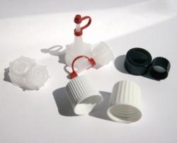 Verschlüsse für PE-HD und PVC Vierkantflaschen, Serie 310 Faust Laborbedarf AG Onlineshop