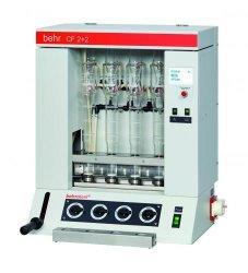 behrotest® CF 2+2 und CF 6, halbautomatische Rohfaser-Extraktionseinheiten Faust Laborbedarf AG Onlineshop