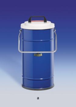 Dewargefässe mit grossem Volumen, zylindrische Form, für CO2 und LN2