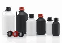 Enghalsflaschen, Serie 308/310, HDPE, UN-Zulassung